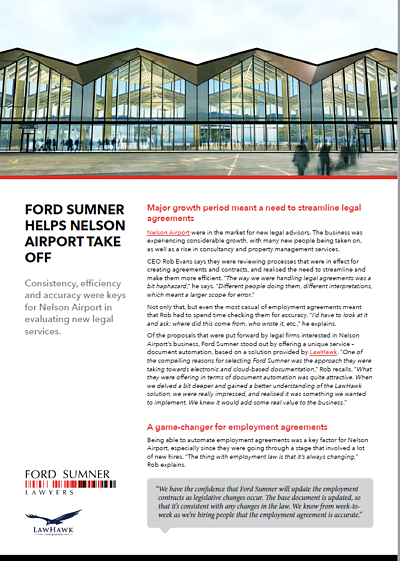 Ford Sumner Nelson Airport Case Study Image